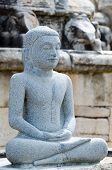Buddha statue in meditation pose