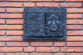 Commemorative Plaque For Deported Jews In The Gorinchem, Netherlands poster