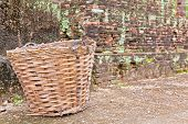 A Basket And The Ruins