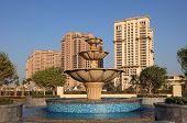 Fountain In Doha, Qatar