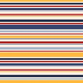 Horizontal Stripes Seamless Pattern. Vector Colorful Lines Texture. Elegant Abstract Geometric Strip poster
