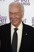 SANTA MONICA, CA - FEB 25: Christopher Plummer at the 2012 Film Independent Spirit Awards on Februar