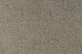 The Surface Of The Cement Is Small Gravel Mix For Design. Patterns Of Wall And Floor Gravel poster
