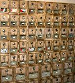 antigas caixas de post office