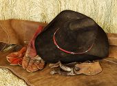 picture of bareback  - hat - JPG
