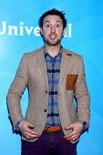 LOS ANGELES - JAN 7:  Sam Huntington attends the NBCUniversal 2013 TCA Winter Press Tour at Langham