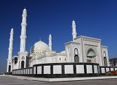 Beautiful Mosque In Astana