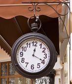 Old Street Clock