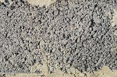foto of slag  - slag stone cement block texture or background close - JPG