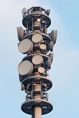 Radio Tower Closeup
