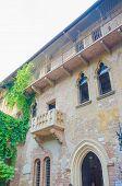 Famous Juliet balcony in Verona