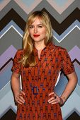 PASADENA, CA - 8 de JAN: Dakota Johnson atende a FOX TV 2013 TCA inverno Press Tour no Langham Hunti