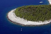 Bay on island Hvar