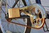 Improvised pedal