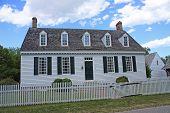 Haus im Kolonialstil, yorktown