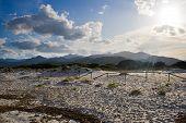 Montanhas na Sardenha