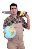Tradesman dedicated to developing the world