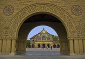 Stanford Chapel Through The Arch