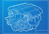 picture of piston-rod  - Engine - JPG