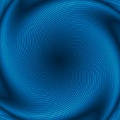 Blue Abstract Twirl Background Or Texture