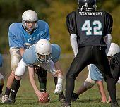 18 Oktober 2008 eeuw Middelbare School jeugd voetbal V Katholieke jeugd organisatie Eagles (CYO). Laatste