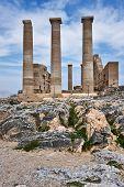 Temple Of Athena Lindia, Lindos, Greece