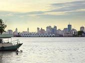 Bangkok City Skyline,thailand