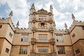 OXFORD, ENGLAND - JULY 26. Bodleian Library, Oxford University on July 26, 2013, Oxford, England