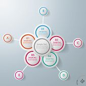 Infographic Design Flower 10 Options