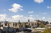Skyline Of Edinburgh, Scotland