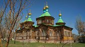 The Holy Trinity Cathedral in Karakol