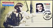 Stamp printed in Cuba anniversary of the death of legendary Che Guevara in Bolivia