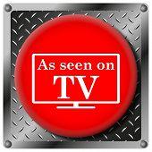 As Seen On Tv Metallic Icon