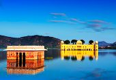 The Palace Jal Mahal At Sunset