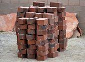 Stacked Paving Wall Bricks