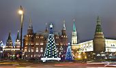 Moscow, Christmas Trees