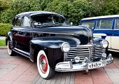Classic Old Car Black