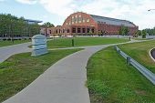 Hinkle Fieldhouse On The Butler University Campus