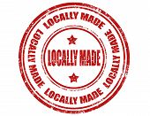 Locally Made-stamp