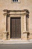 Church of SS. Croce. Manduria. Puglia. Italy.