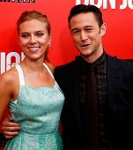 NEW YORK-SEP 12: Scarlett Johansson and Joseph Gordon-Levitt attend the