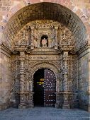 Front Door To Iglesia San Lorenzo