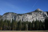 North Dome Landscape Yosemite National Park