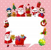 Happy x'mas card