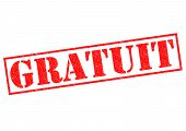 Gratuit (free)
