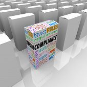 Compliance Box Competitive Advantage Best Choice Safest Products