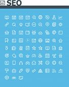 pic of glyphs  - SEO icon set - JPG