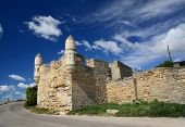 Yeni-Kale, ancient turkish fortress in the Kerch Strait, Crimea, Ukraine