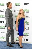 SANTA  MONICA - MAR 1: Dax Shepard, Kristen Bell at the 2014 Film Independent Spirit Awards at Santa