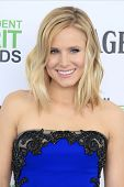 SANTA  MONICA - MAR 1: Kristen Bell at the 2014 Film Independent Spirit Awards at Santa Monica Beach